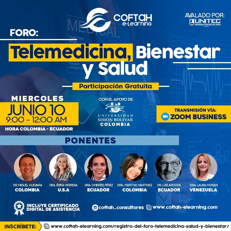 Foro: Telemedicina, Salud y Bienestar