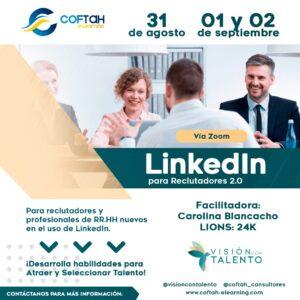 2.ª Sesión de LinkedIn para Reclutadores 2.0