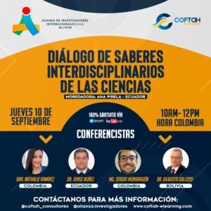 Diálogo de saberes Interdisciplinarios de las Ciencias
