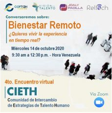 4to. Encuentro Virtual CIETH